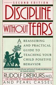 Cover of: Discipline without tears
