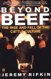 Cover of: Beyond beef: the rise and fall of the cattle culture