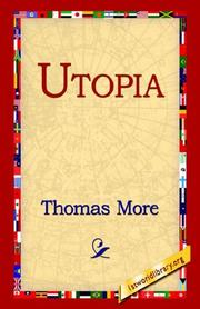 Cover of: Utopia by Thomas More