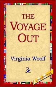 Cover of: The Voyage Out | Virginia Woolf