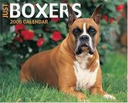 Just Boxers 2006 16-Month Wall Calendar
