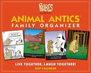 Cover of: Rubes Animal Antics Family Organizer