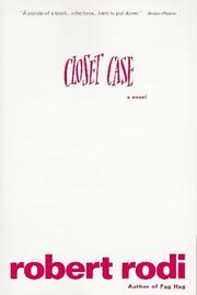 Cover of: Closet case: a novel