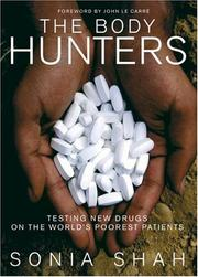 Cover of: The Body Hunters | Sonia Shah