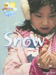 Cover of: Snow (Qeb Weather Watch) |