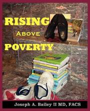 Cover of: Rising Above Poverty | Joseph, A. Bailey
