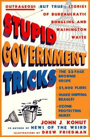 Cover of: Stupid government tricks