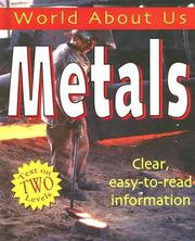 Cover of: Metals (World About Us)