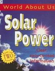 Cover of: Solar Power (World About Us)