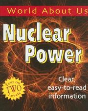 Cover of: Nuclear Power (World About Us)