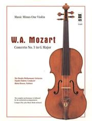 Cover of: Music Minus One Violin