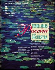 Cover of: Music Minus One Tenor