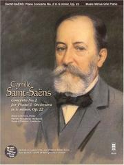Cover of: Music Minus One Piano: Camille Saint-Saens