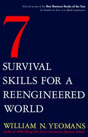 Cover of: Seven Survival Skills for a Re-Engineered World