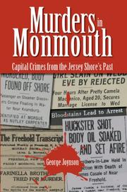 Cover of: Murders in Monmouth | George Joynson