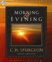 Cover of: Morning and Evening
