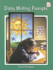 Cover of: Daily Writing Prompts