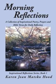 Cover of: Morning Reflections | Karen Jean Matsko Hood