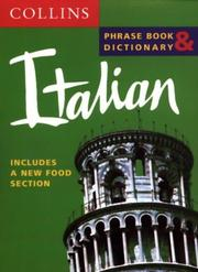 Cover of: Italian Phrase Book & Dictionary