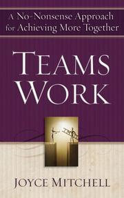 Cover of: TeamsWork | Joyce Mitchell