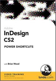 Cover of: InDesign CS2 Power Shortcuts