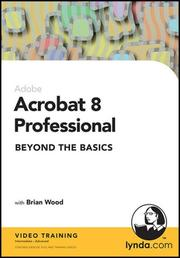 Cover of: Acrobat 8 Professional Beyond the Basics