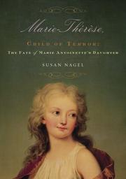 Cover of: Marie-Therese, Child of Terror | Susan Nagel