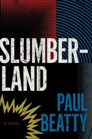 Cover of: Slumberland: A Novel