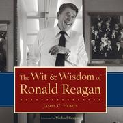 Cover of: The Wit & Wisdom of Ronald Reagan