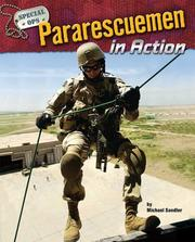 Cover of: Pararescuemen in Action (Special Ops) | Michael Sandler