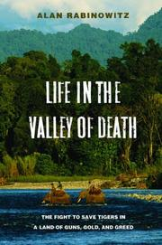 Cover of: Life in the valley of death