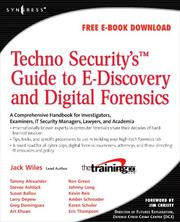 Cover of: Techno Security
