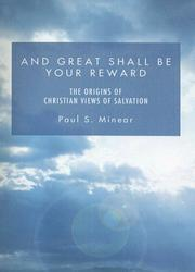 Cover of: And Great Shall Be Your Reward