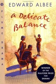 Cover of: A delicate balance