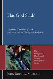 Cover of: Has God Said?