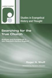 Cover of: Searching for the True Church | Roger N. Shuff