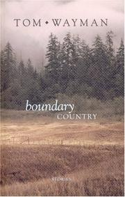 Cover of: Boundary Country
