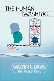 Cover of: The Human Wash Tag | Walter, L Davis