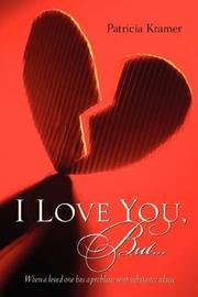Cover of: I Love You, But... | Patricia Kramer