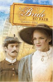 Cover of: A Bride So Fair