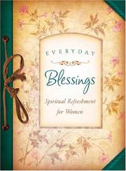 Cover of: EVERYDAY BLESSINGS (Spiritual Refreshment)