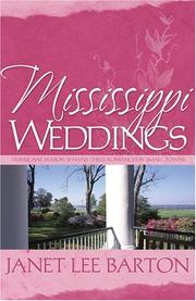 Cover of: Mississippi Weddings | Janet Lee Barton