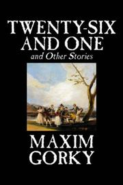 Cover of: Twenty-six and One and Other Stories
