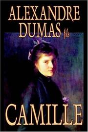 Cover of: Camille by Alexandre Dumas