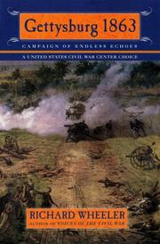 Cover of: Gettysburg 1863: campaign of endless echoes