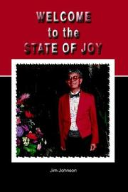 Cover of: Welcome to the State of Joy | Jim Johnson