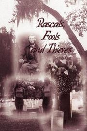 Cover of: Rascals, Fools and Thieves | Roscoe Crist