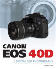Cover of: Canon EOS 40D Guide to Digital Photography