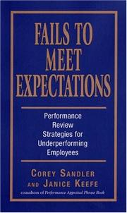 Fails to meet expectations by Corey Sandler