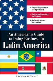 Cover of: An AmericanÆs Guide to Doing Business in Latin America | Lawrence W. Tuller